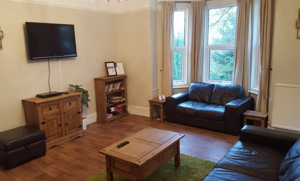 Lounge at Woodlands care service