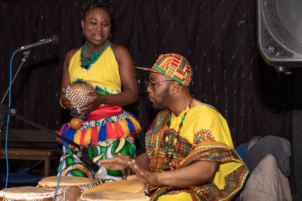 Traditional black music and song