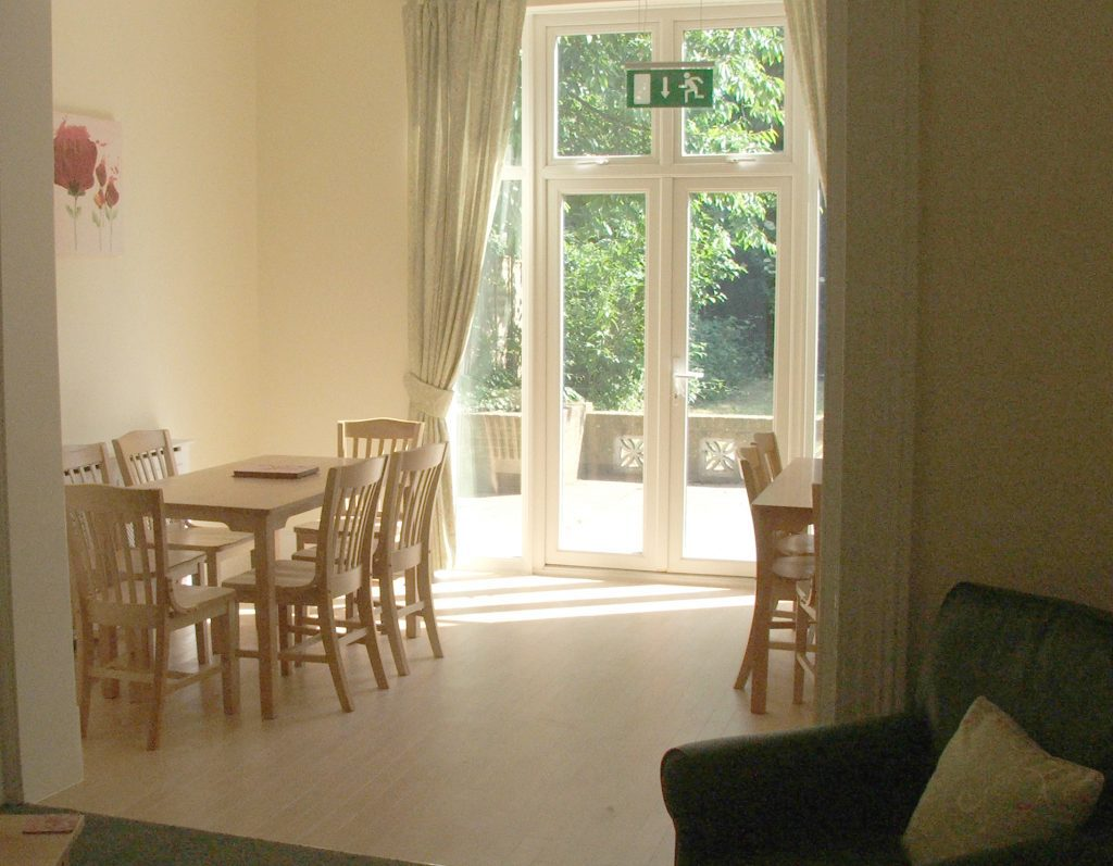 Dining room at Oakdale Road care home