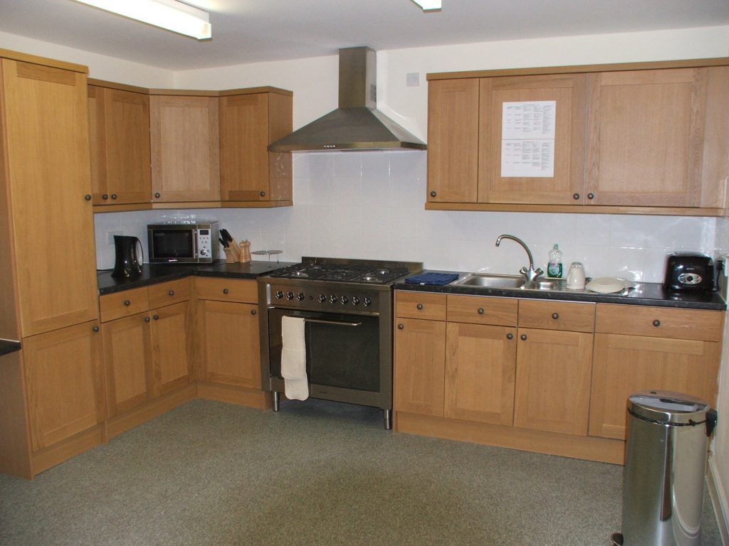 Kitchen at meesons lodge care service