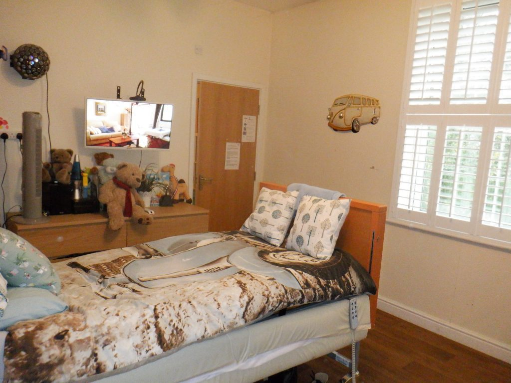 Bedroom at meesons lodge