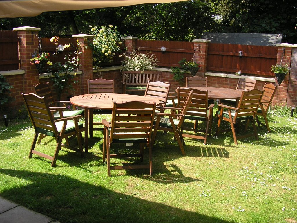 Outdoor Space at Inglewood house for residents