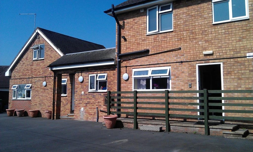 Front of highbury house achieve together home