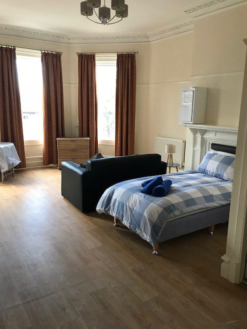 Bedroom at Homeleigh house