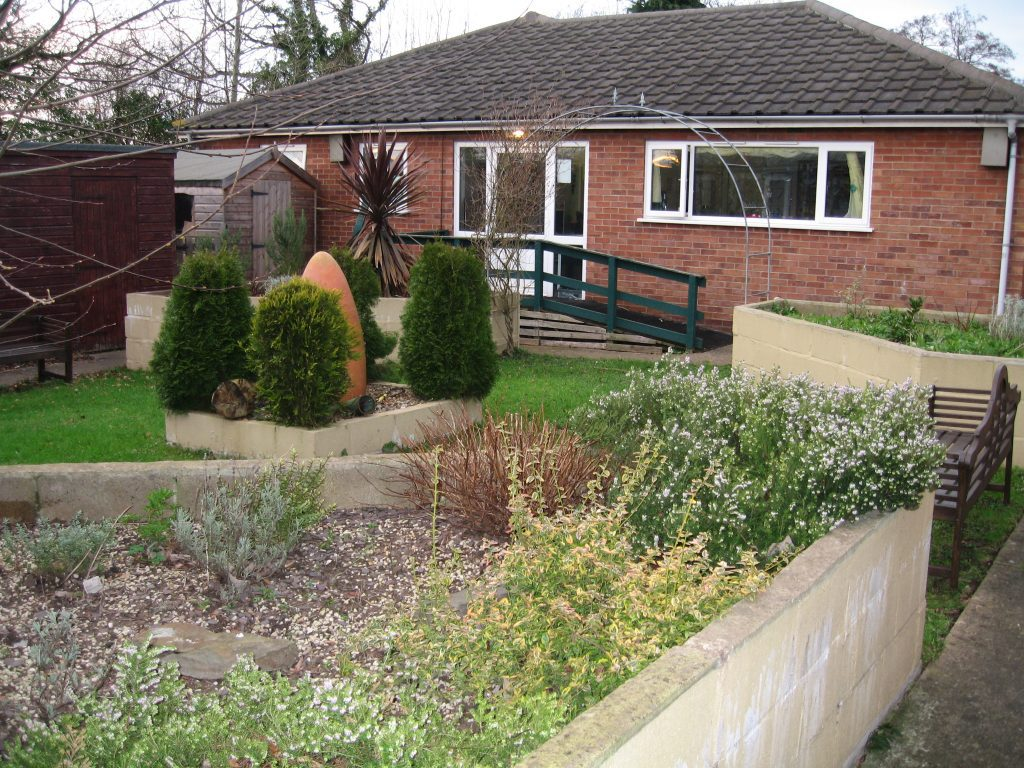 Gardens at New Dawn achieve together care home