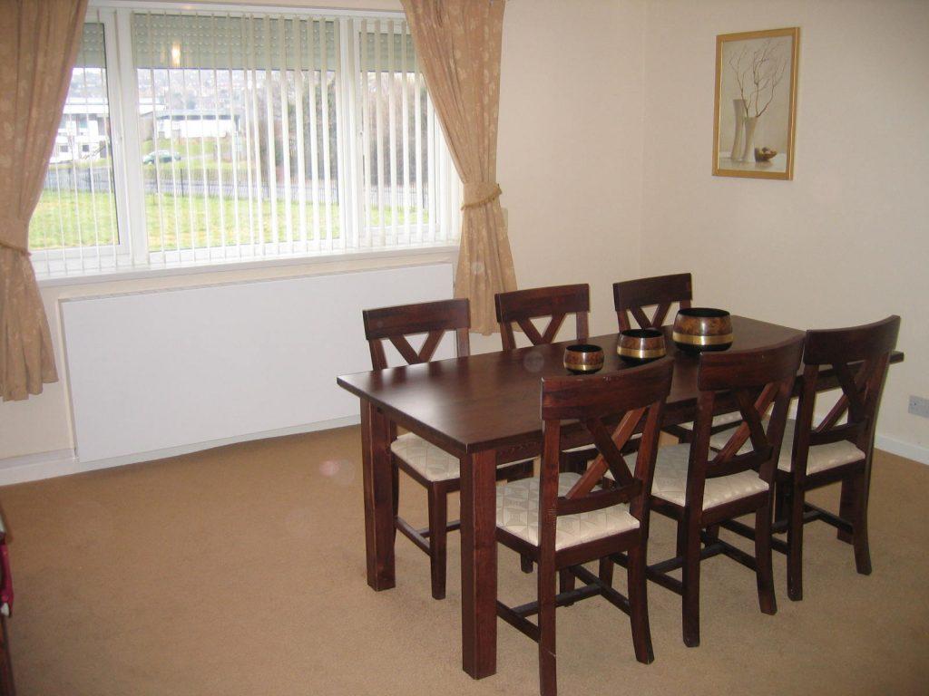 Dining Room at TroedYBryn Service