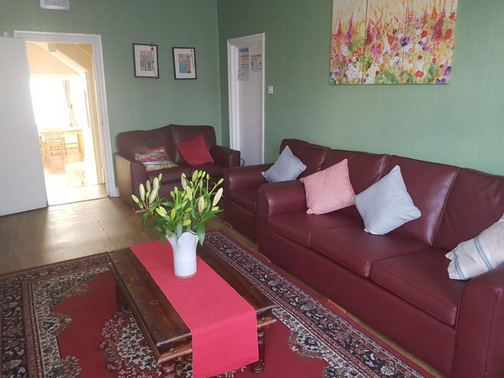 Lounge for residents at Perryn road