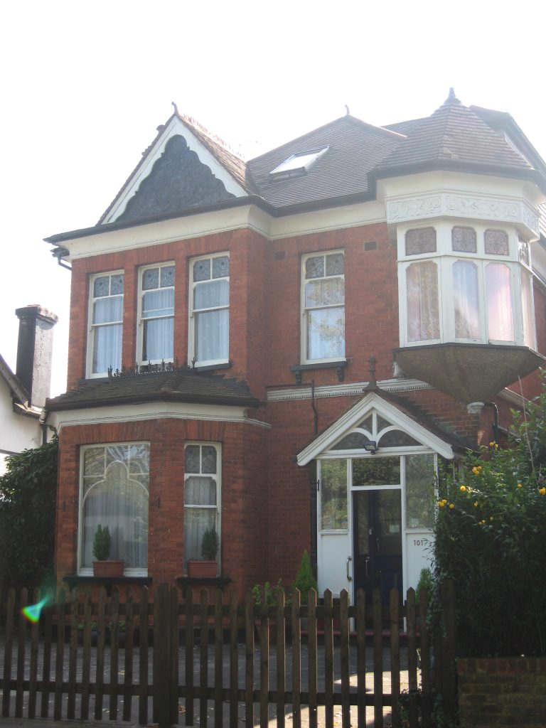 Front of cheam road care home