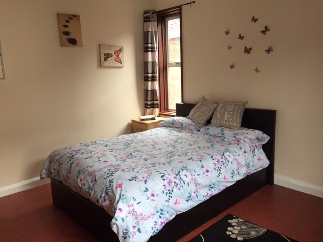 Double bed at Portland Street