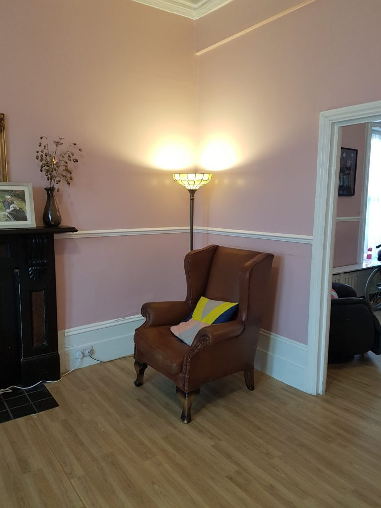 Common space at Pierrepoint Road achieve together care home