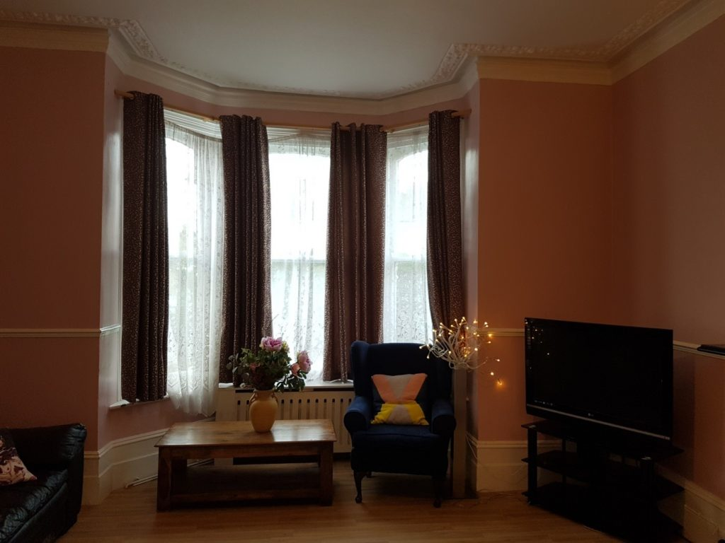 Sitting room at Pierrepoint Road care service