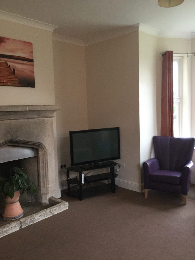 Common space in Ivers house care service