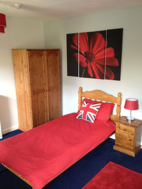 Bedroom for residents at Woodlands