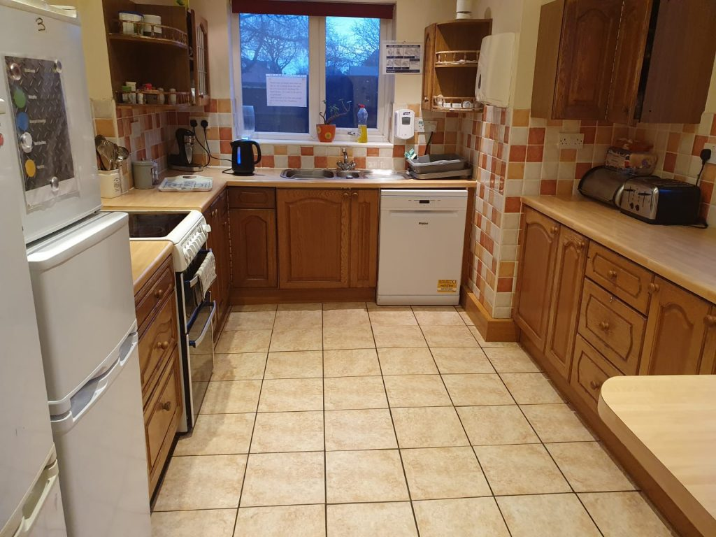 The kitchen of st albans road care service