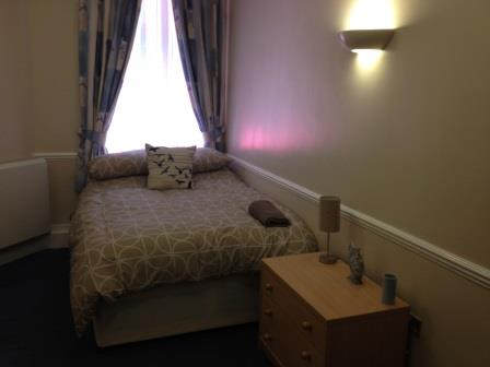 Bedroom at Wren Park care home