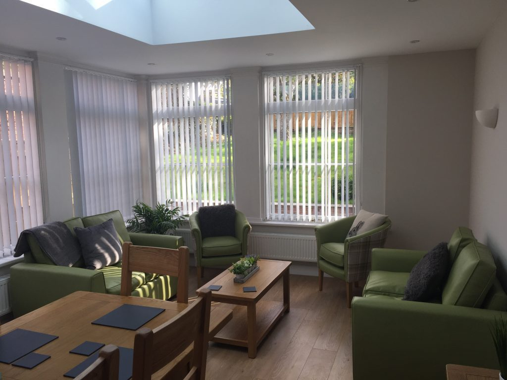Common room of Domcare North West
