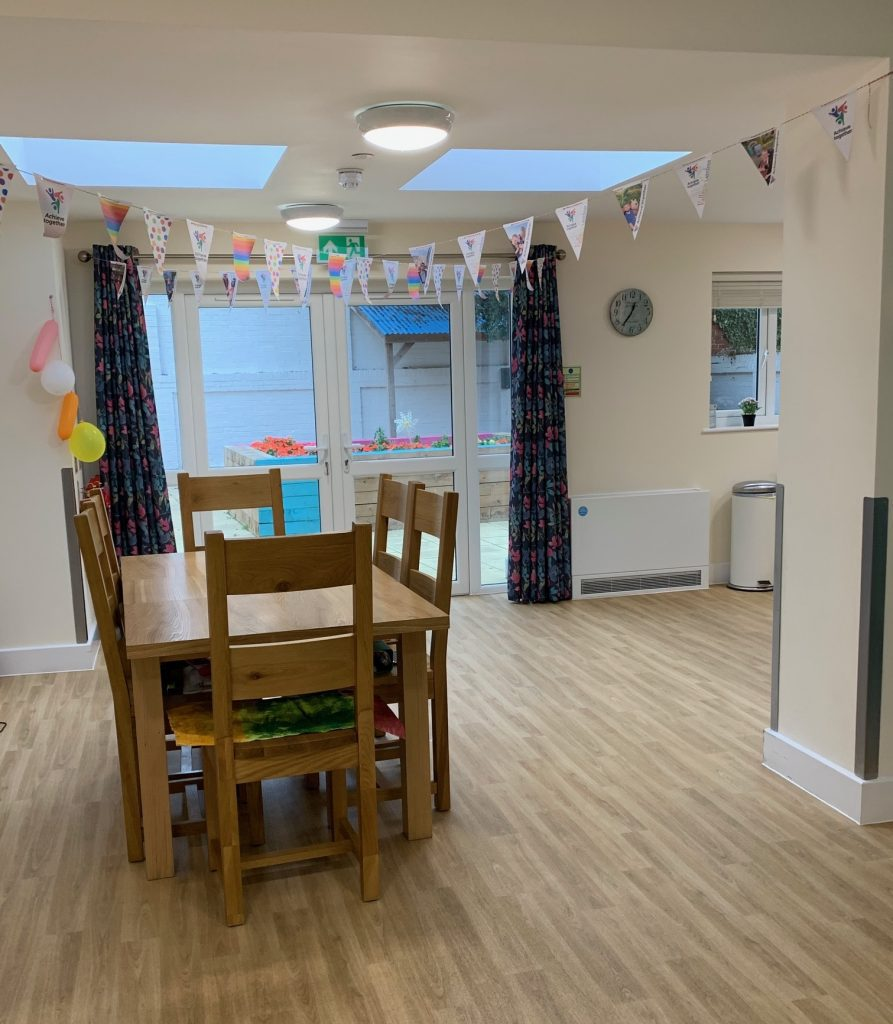 Dining Room in Achieve Together Vallance Gardens home