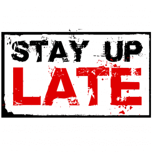 The stay up late campaign encourages equal enjoyment of life for the people we support
