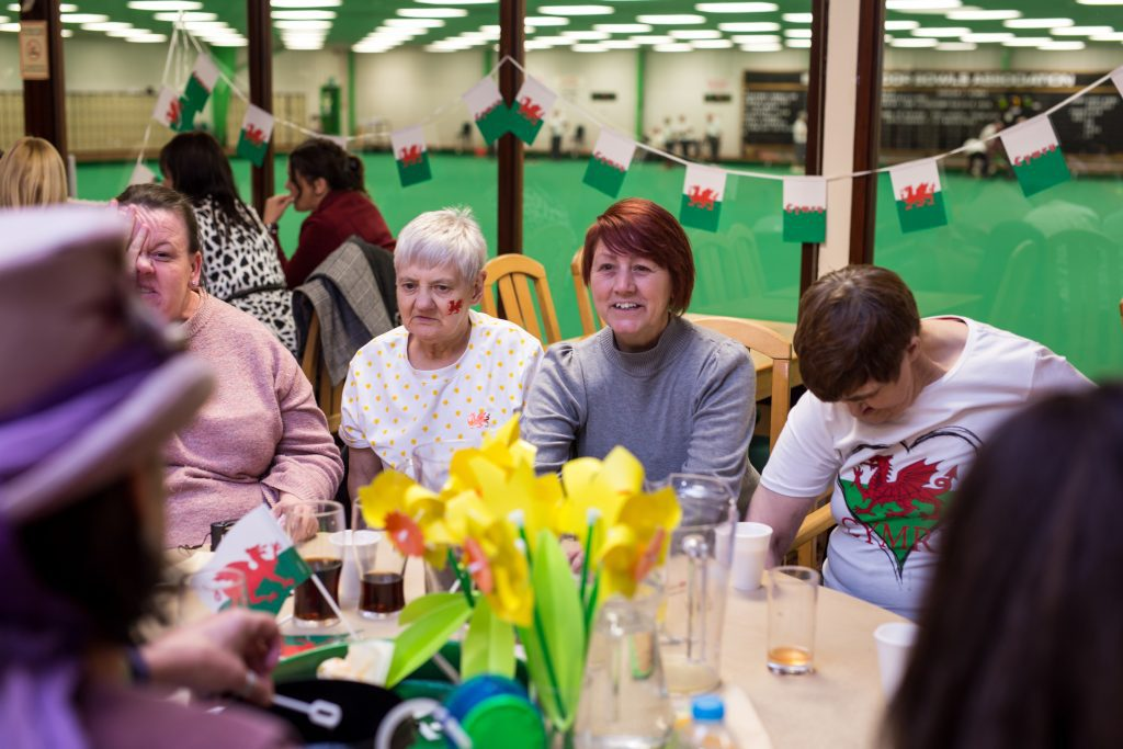 Our Welsh event in aid of St David's Day