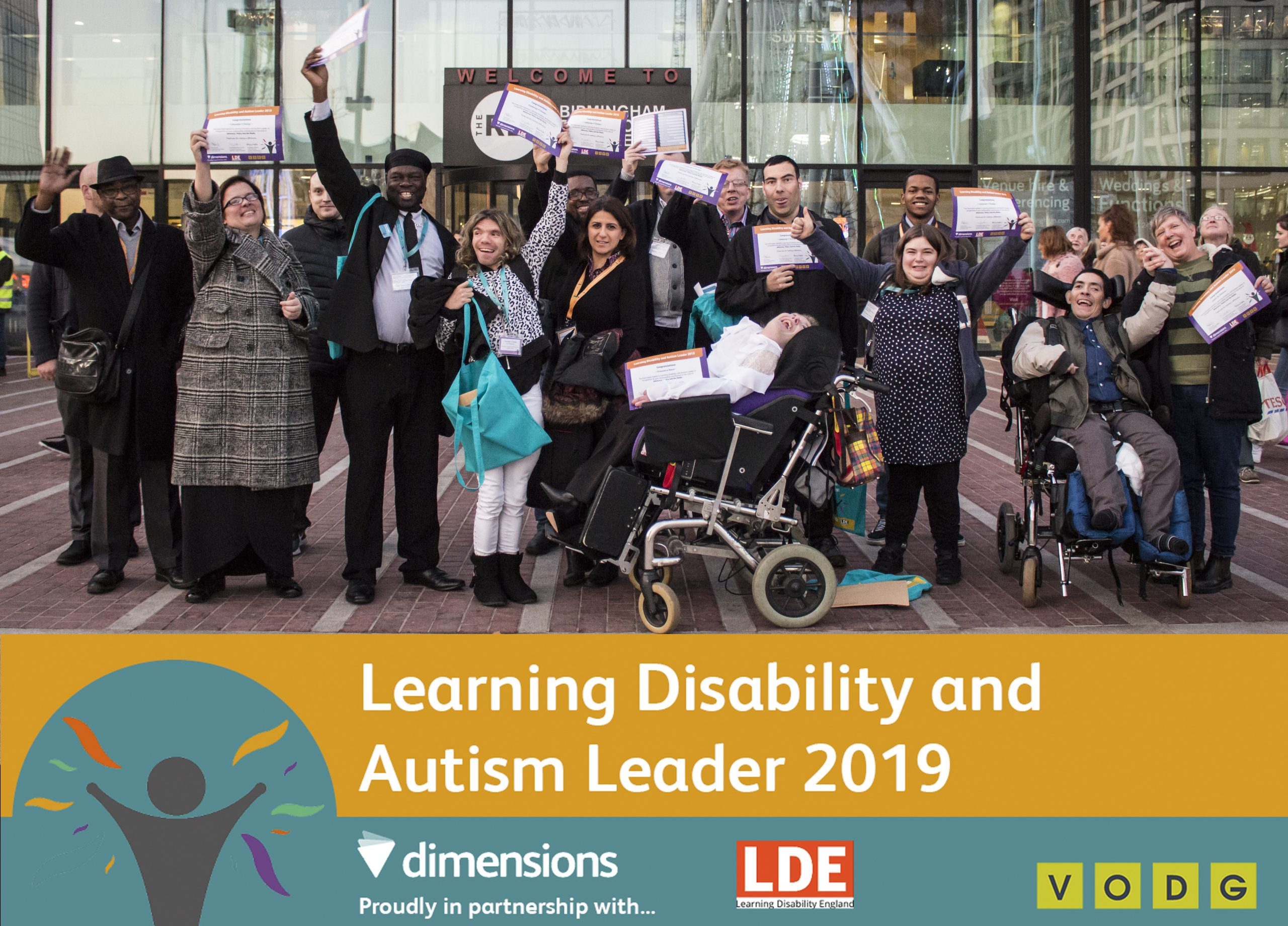C4C awarded as a Learning Disability and Autism Leader in 2019