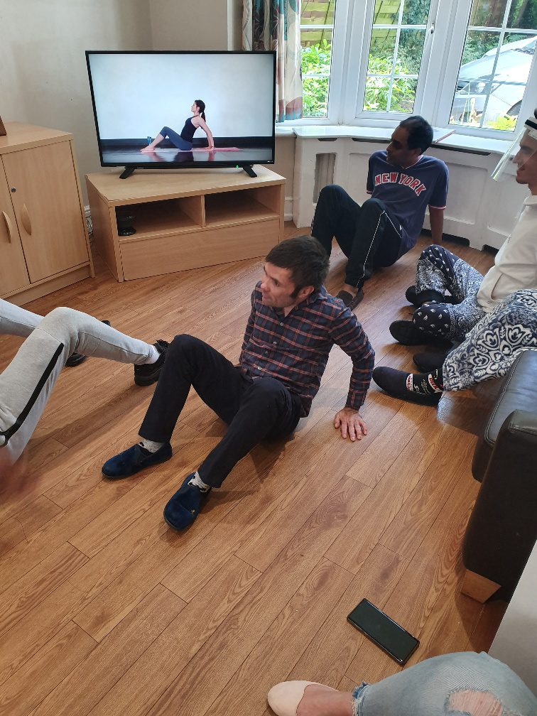 Yoga Fitness at Combe House