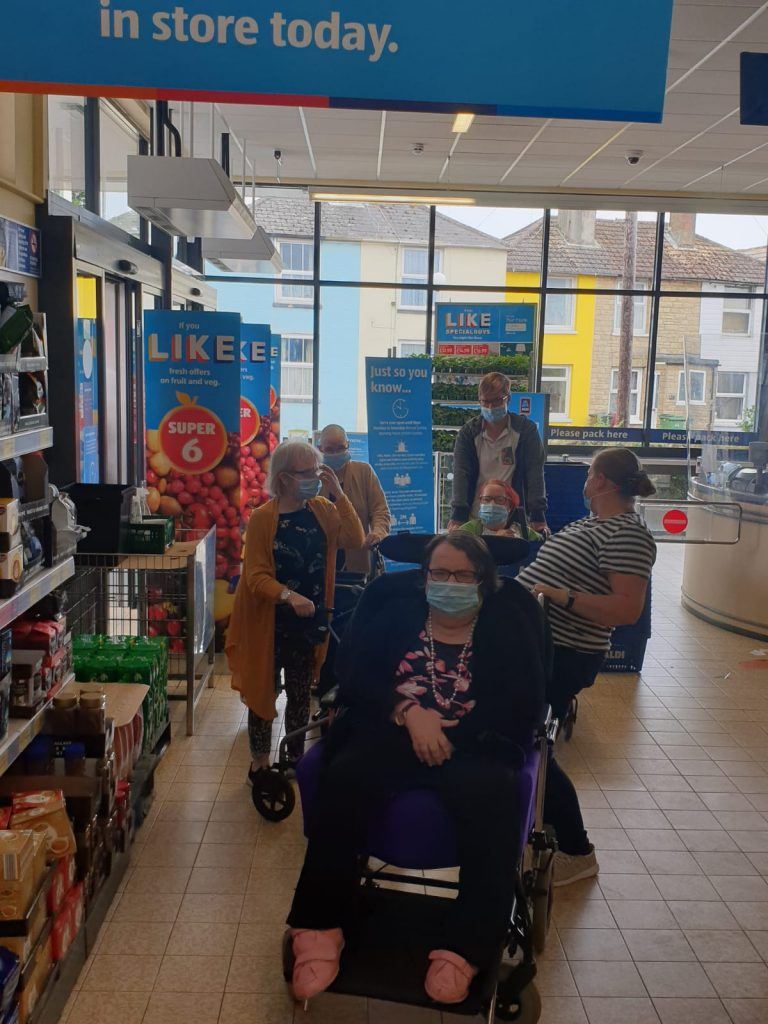 Aldi opened late for people we support