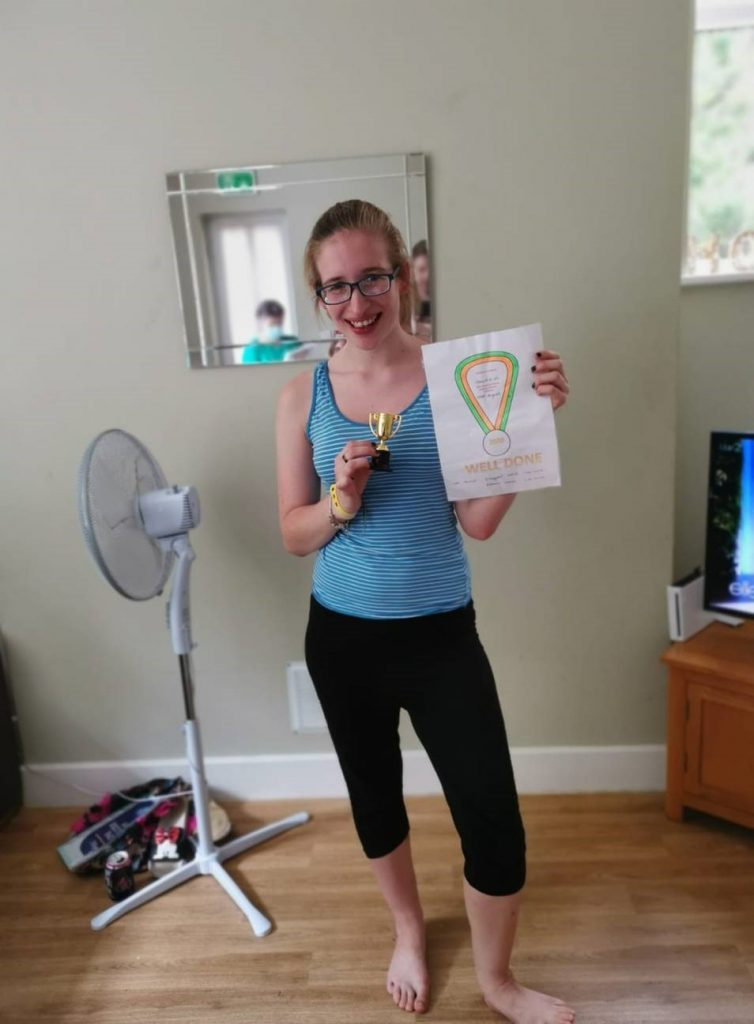 Olympics at Pineleigh Social Care Service