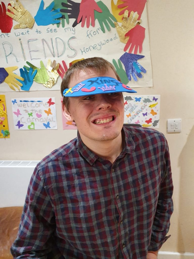 Masks and culture at Honeywood social care service