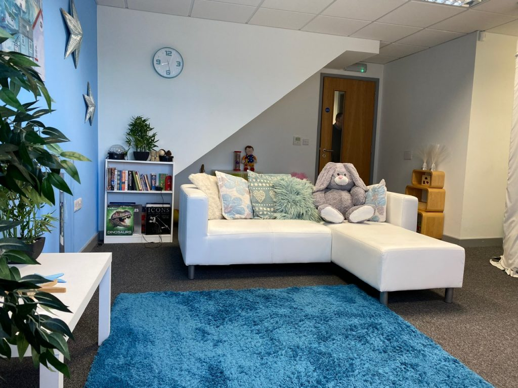 Living Room at the Hub Social Care Service