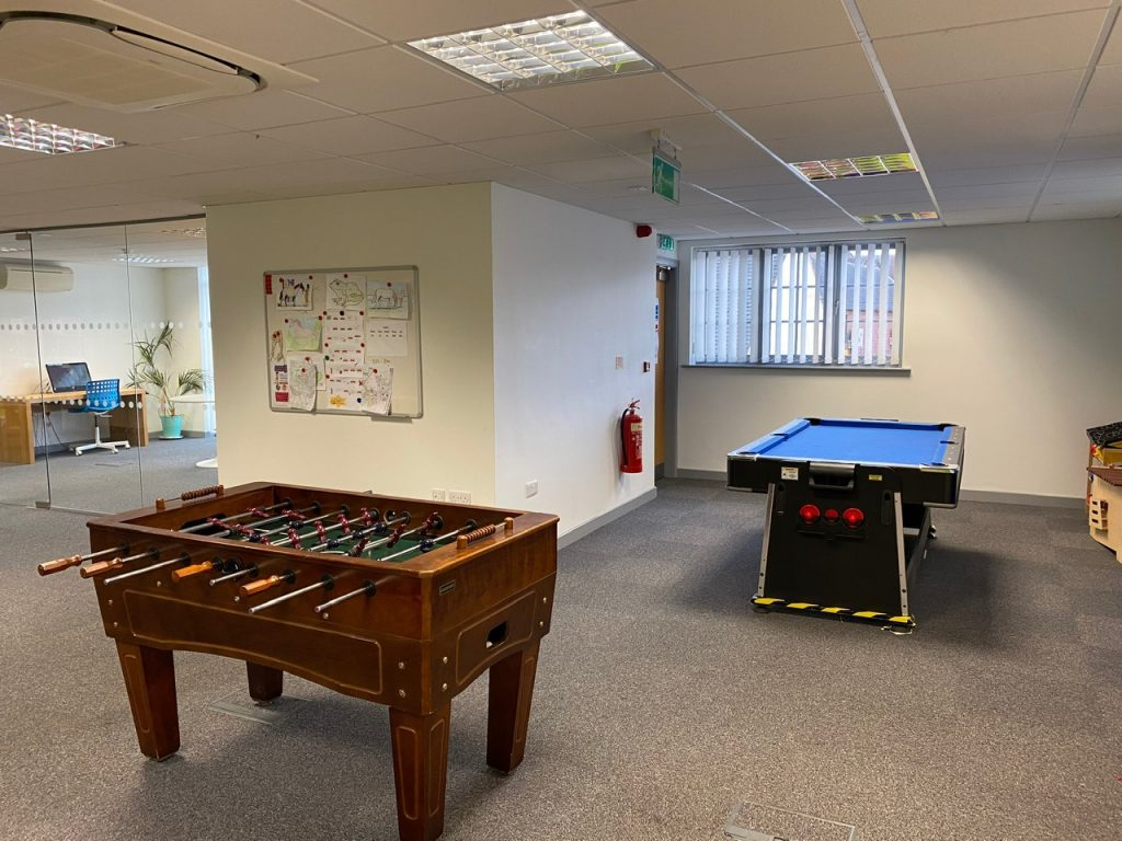 games room staffordshire social care service