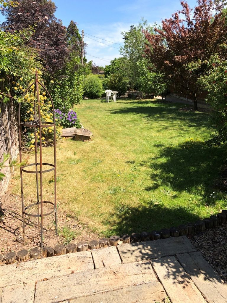 garden at mill view care home stoke on trent