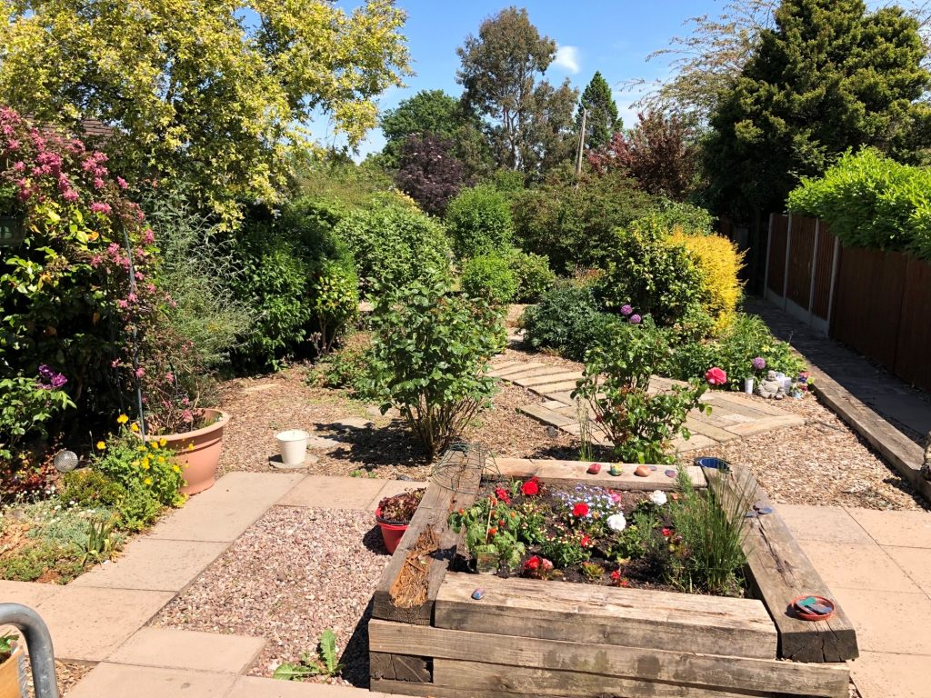 outdoor space care home stoke on trent