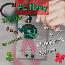 elf day party for alzheimers society